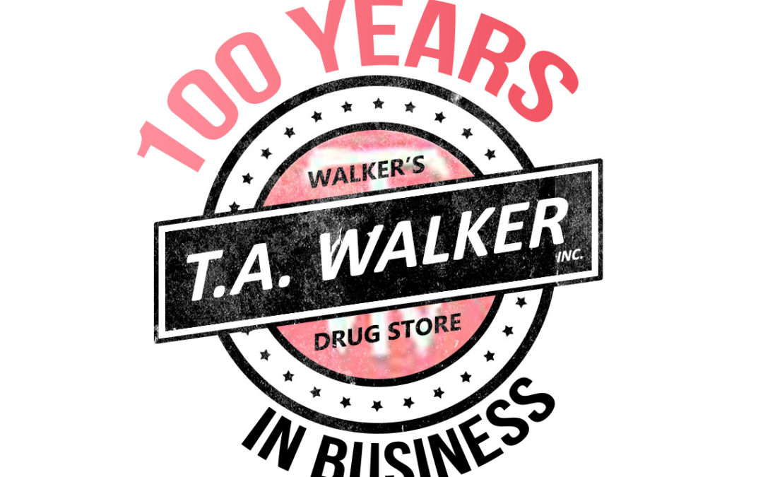 Walker's Drug Store is celebrating 100 years in business!